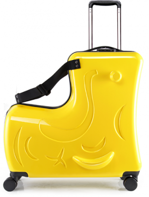 Kid's ride-on suitcase